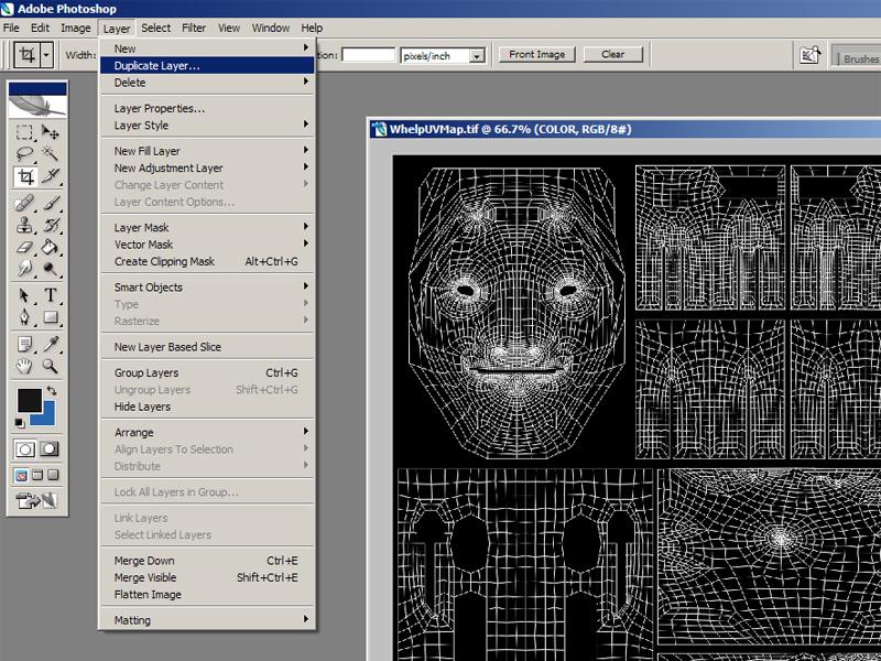 UV Texturing Tutorial :: Painting